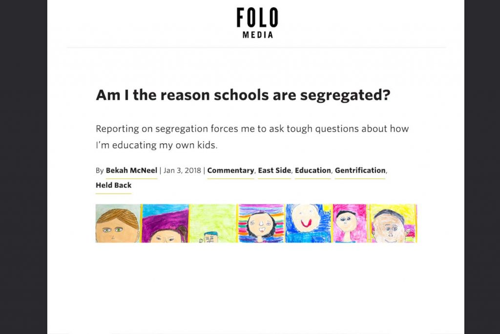 am i the reason schools are segregated