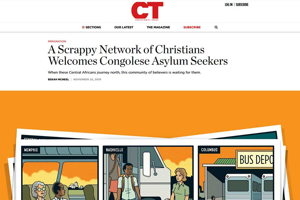 A Scrappy Network of Christians Welcomes Congolese Asylum Seekers