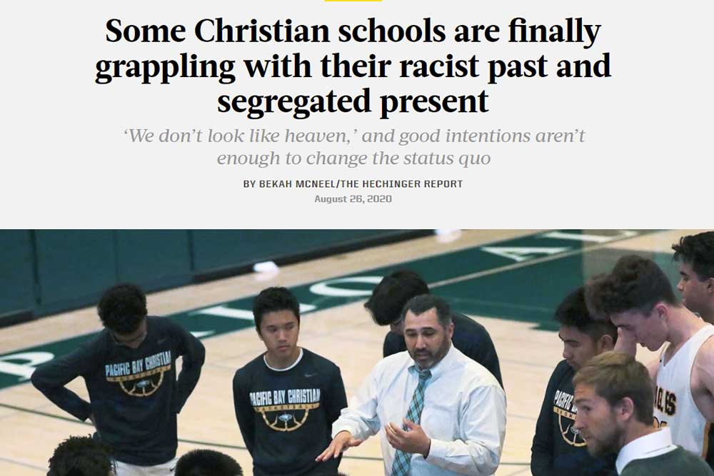 Some Christian schools are finally grappling with their racist past and segregated present